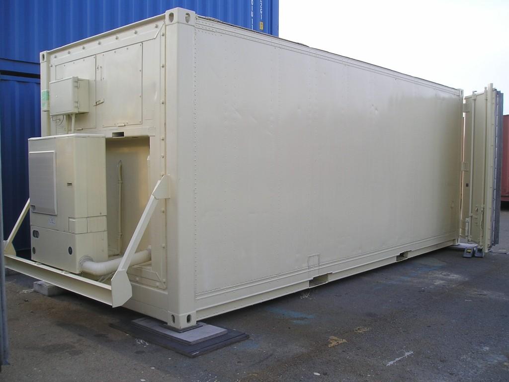 20FT冷凍外部(ユニットクーラー付)